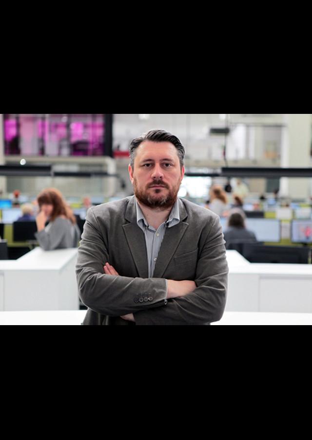 Marko Stjepanović, glavni i odgovorni urednik najvećeg portala u zemlji Blic.rs