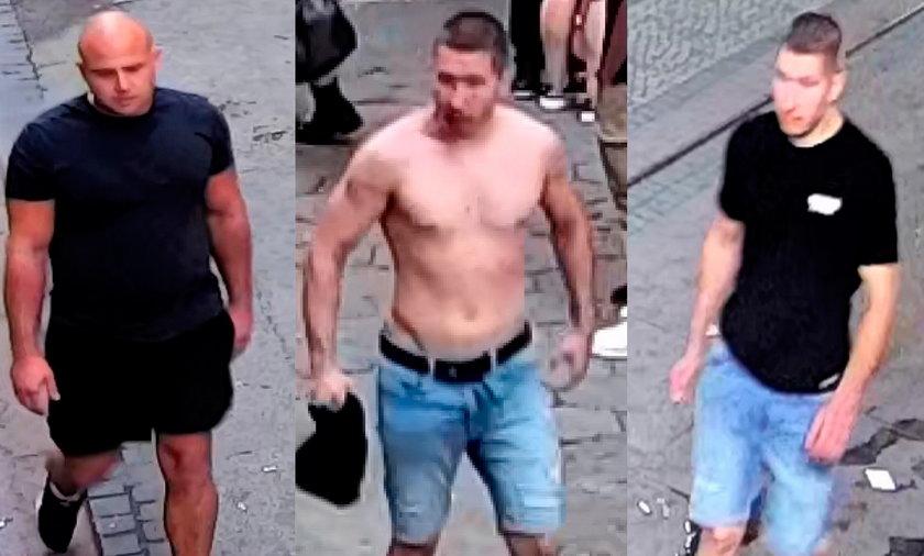 Brutalne pobicie w Pasażu Niepolda we Wrocławiu - poszukiwani