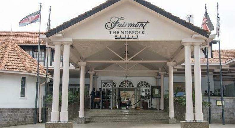 The Fairmont Norfolk hotel