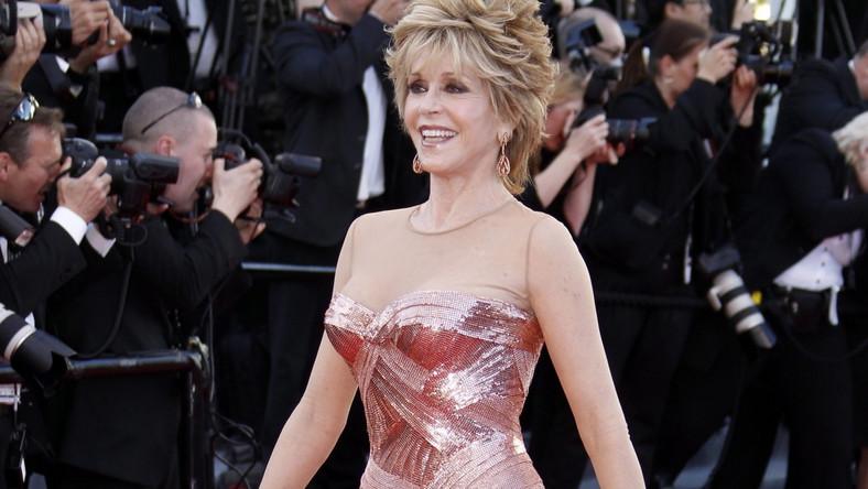 Jane Fonda na festiwalu w Cannes