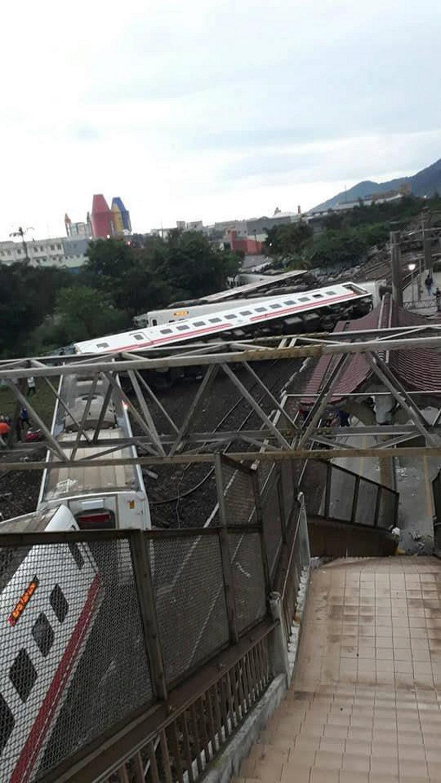 Katastrofa kolejowa. Wiele ofiar i rannych