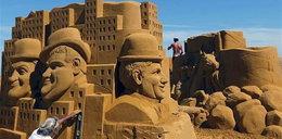 Najlepsze rzeźby z piasku! Oni robią cuda