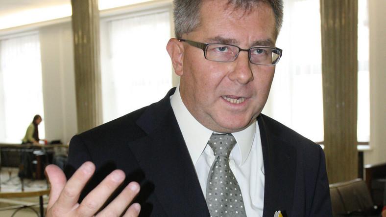 Czarnecki: To gorsze niż pożar w domu publicznym