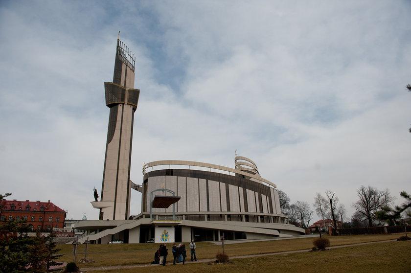 W Łagiewnikach powstanie 40 metrowa kładka między sanktuariami