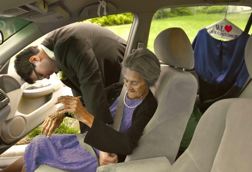Poruszający gest wnuczka. Spełnił marzenie umierającej babci