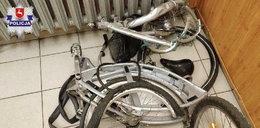 Bezmyślny wandal zniszczył rower