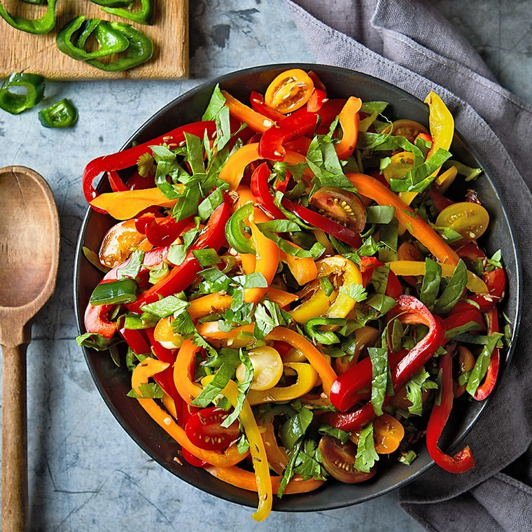 Bell pepper salad(eatingwell)