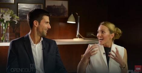Novak i Jelena Đoković u intervjuu za CNN