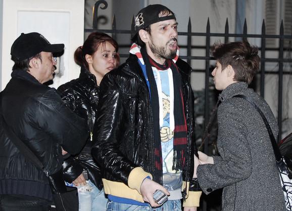 Ksenijin prijatelj i stilista Bane Dević