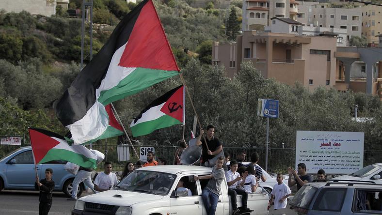 Demonstracje w Palestynie