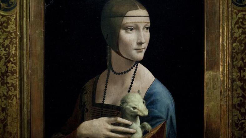 """Dama z gronostajem"", Leonardo da Vinci"