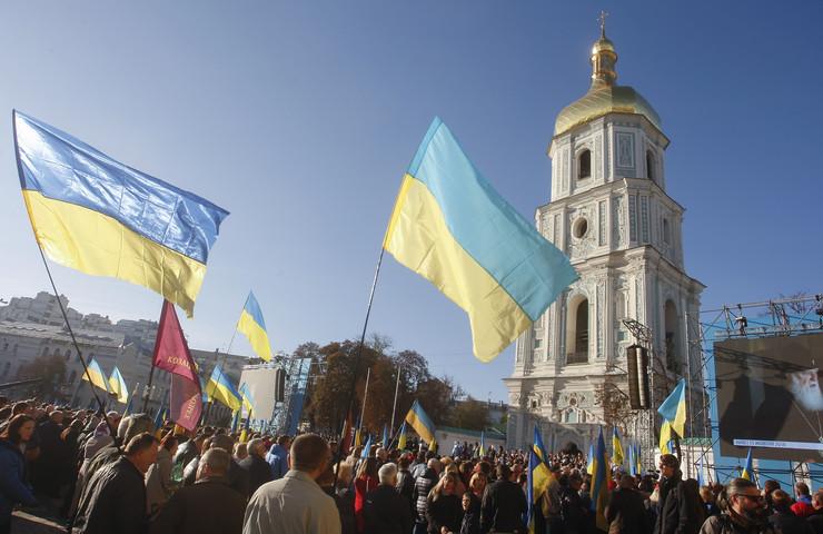 Ukrajina, Kijev, crkva