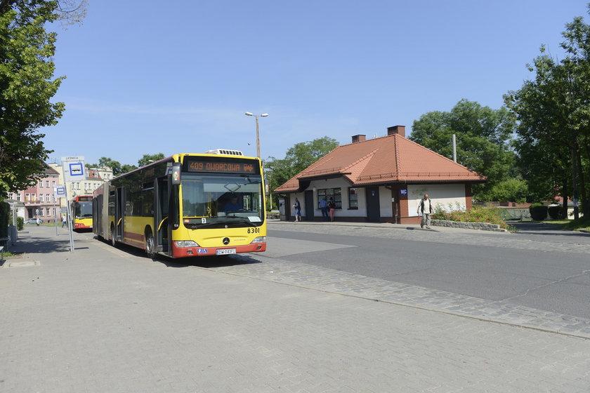 Autobus w Leśnicy