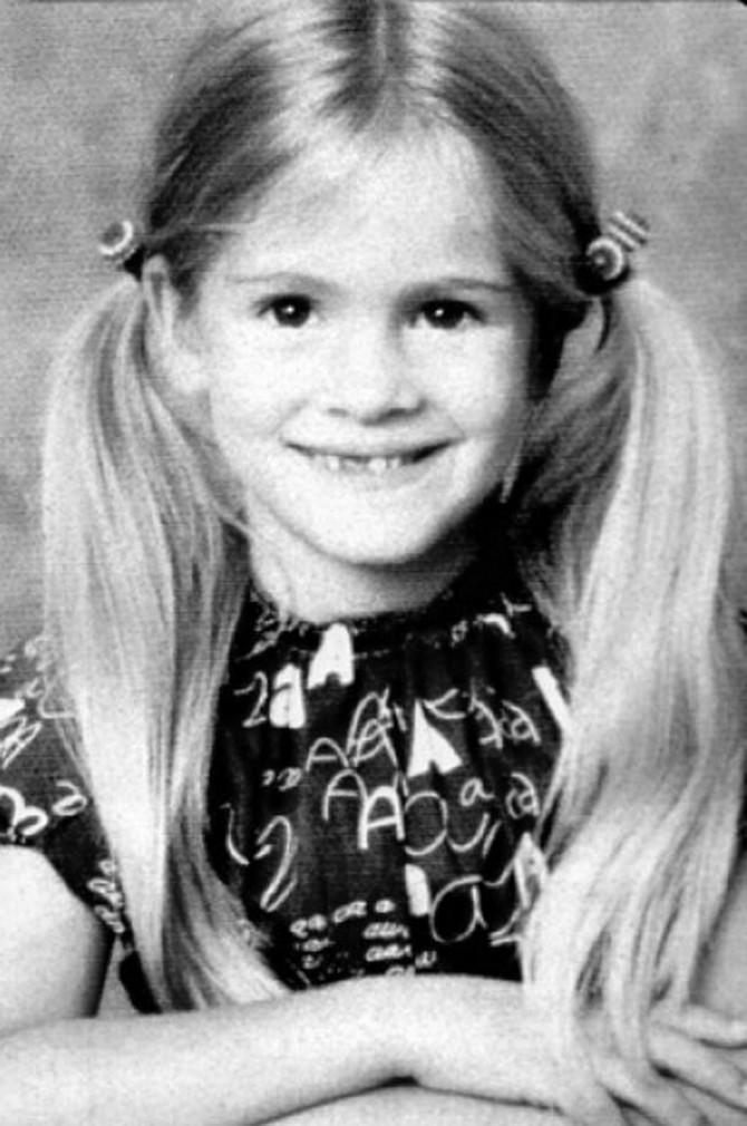 Džulija Roberts kao devojčica