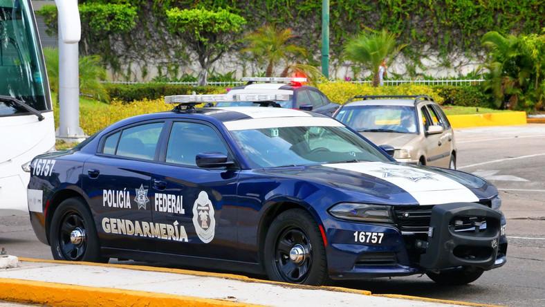 Radiowóz meksykańskiej policji