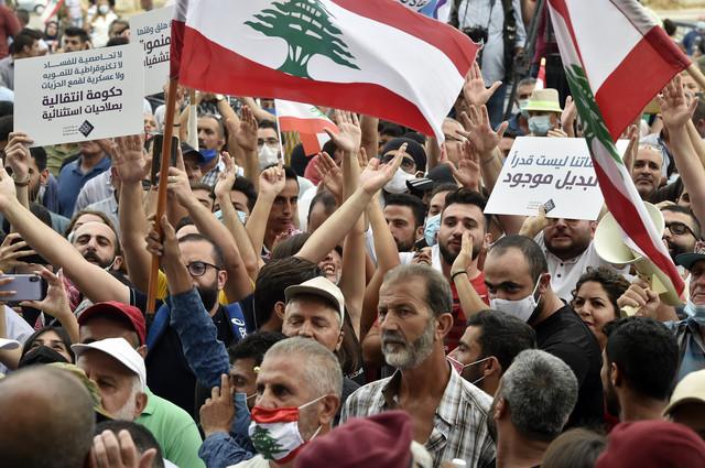 Protesti protiv vlade u Libanu