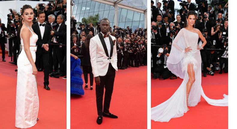 Red Carpet at Cannes Festival . Selina Gomez