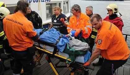 Polscy górnicy rzucili się na pomoc tonącemu aktorowi