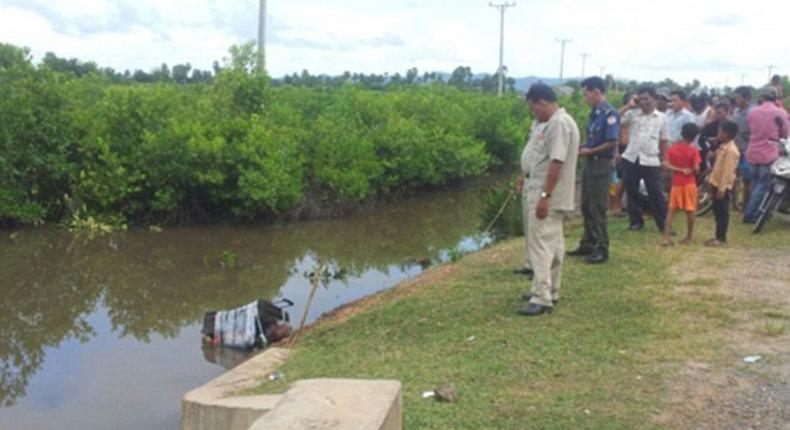 Expatriates no longer safe as a 'White' man was horribly murdered and body dumped in a canal