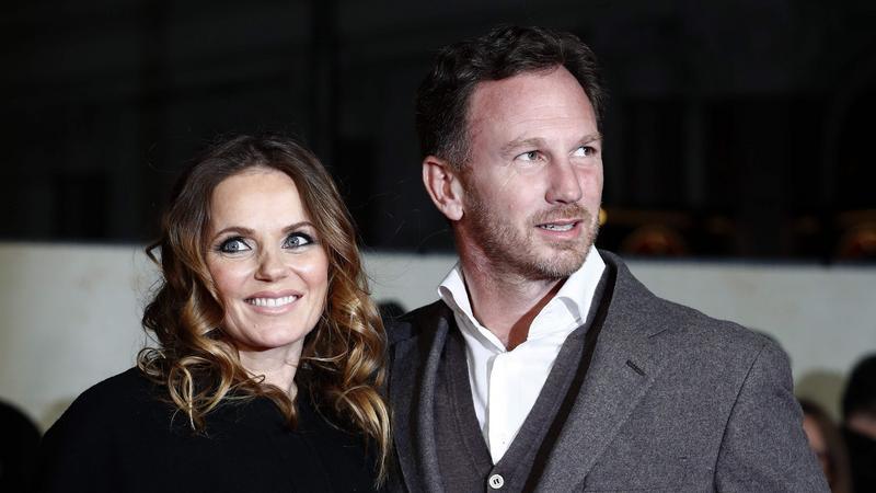 Christian Horner z żoną Geri