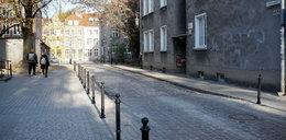 Rozkopana ulica pól roku czekała na powrót robotników! Władze Gdańska musiały dogadać się z konserwatorem