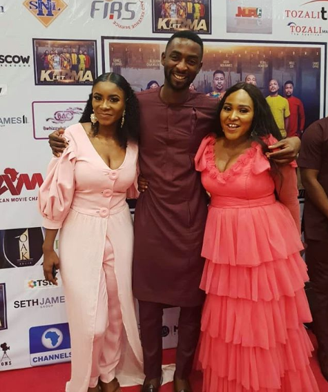 Faces at 'Let Karma' premiere in Abuja