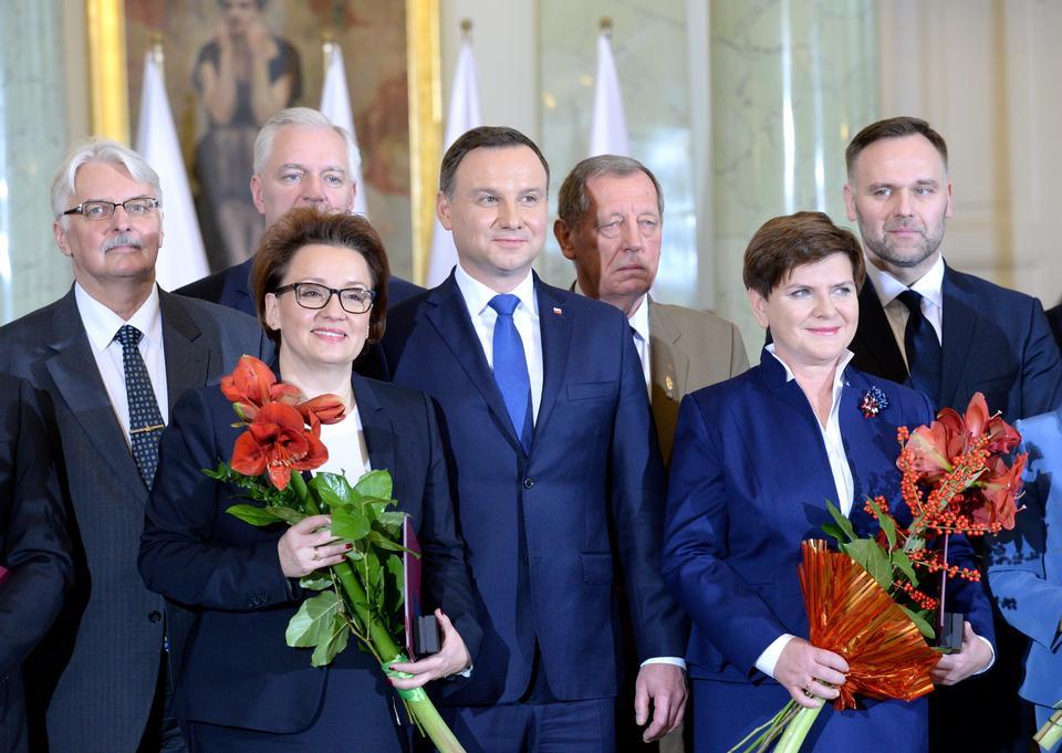 Zaprzysiężenie rządu Beaty Szydło. Zobacz zdjęcia z uroczystości