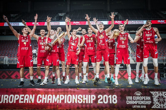 Juniorska košarkaška reprezentacija Srbije - šampion Evrope, ponovo
