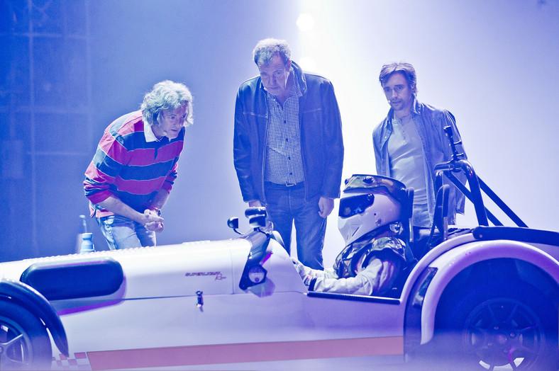 James May, Jeremy Clarkson, Richard Hammond i Stig