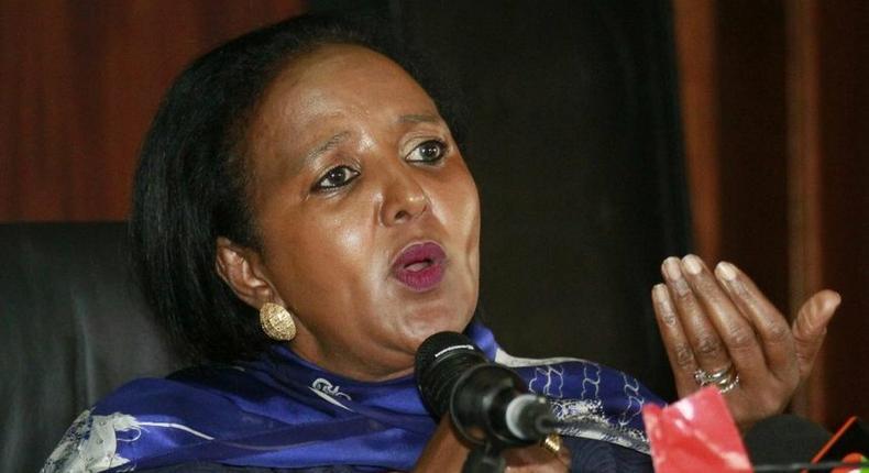 Education Cabinet Secretary Amina Mohamed
