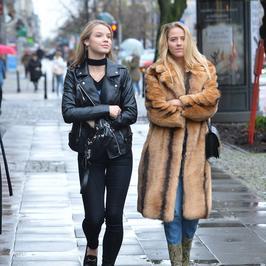 Stylowe przyjaciółki, czyli Jessica Mercedes i Iga Lis razem pod studiem Dzień dobry TVN