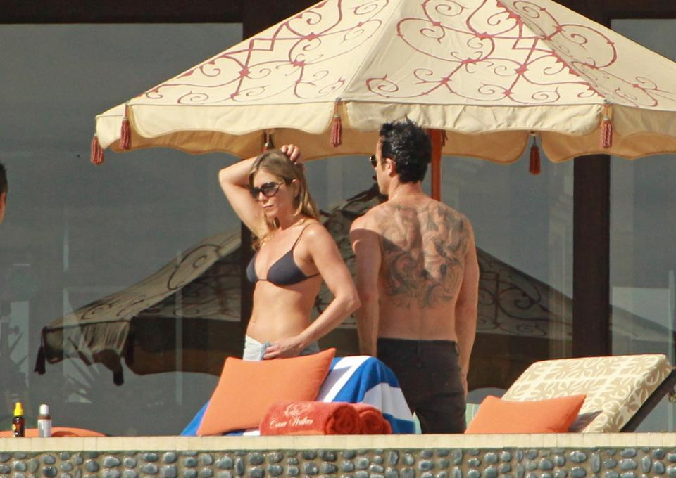 Jennifer Aniston i Justin Theroux