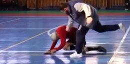 Trener pobił sędziego na meczu