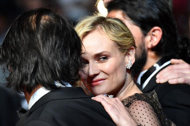 "Diane Kruger na premierze ""In the Fade"""