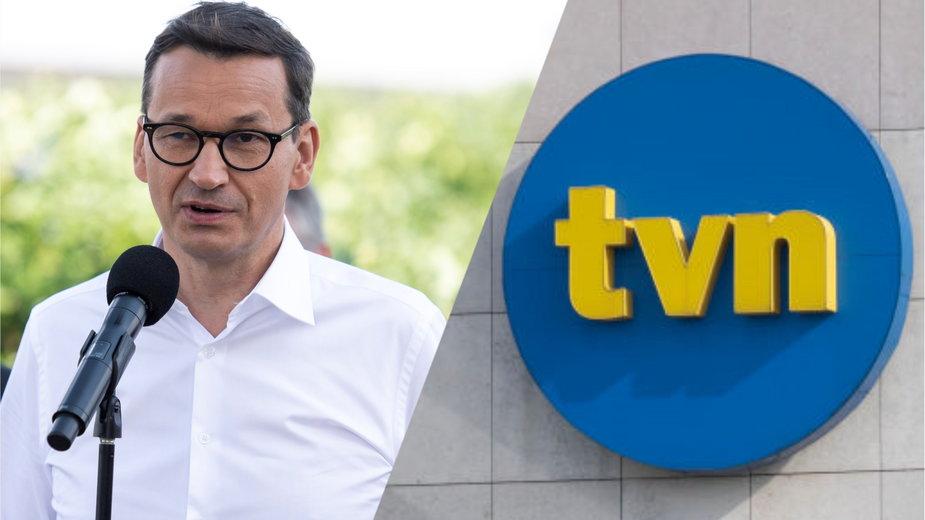 Ustawa przeciw TVN. Morawiecki przypomina przykład z Niemiec