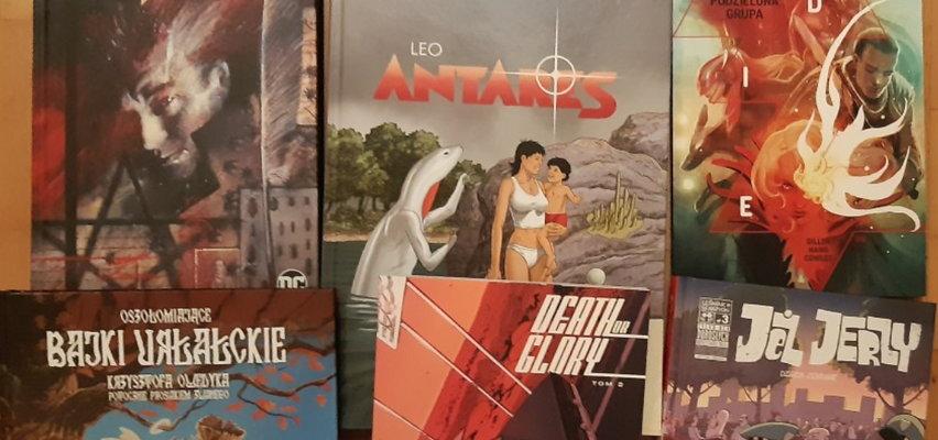 Sześć komiksów dla dorosłych na wakacje. Kultowe zło, śmiertelna gra i ostra jazda z kolcami