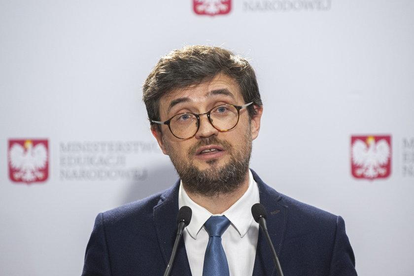 Dyrektor Centralnej Komisji Egzaminacyjnej Marcin Smolik