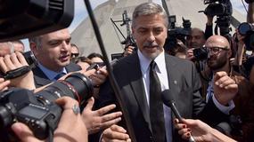 George Clooney na czele marszu pamięci ofiar ludobójstwa w Erywaniu