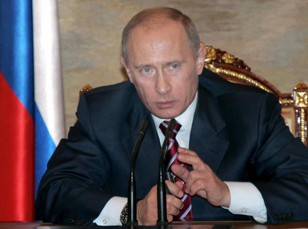 """""""Dzisiaj nie widzimy potrzeby mówienia o budowie jeszcze jednej nitki"""" - powiedział Putin. Fot. PAP"""