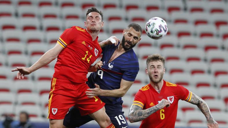 Karim Benzema (w środku)