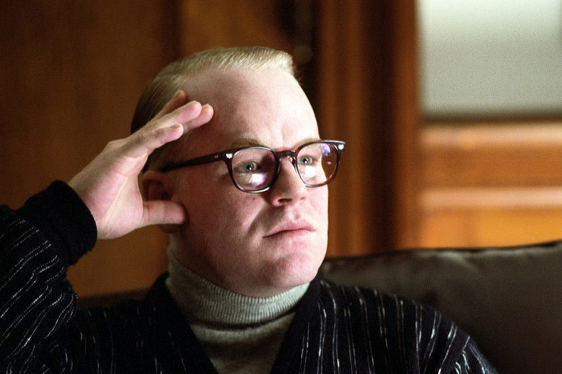 "Philip Seymour Hoffman w filmie ""Capote"""