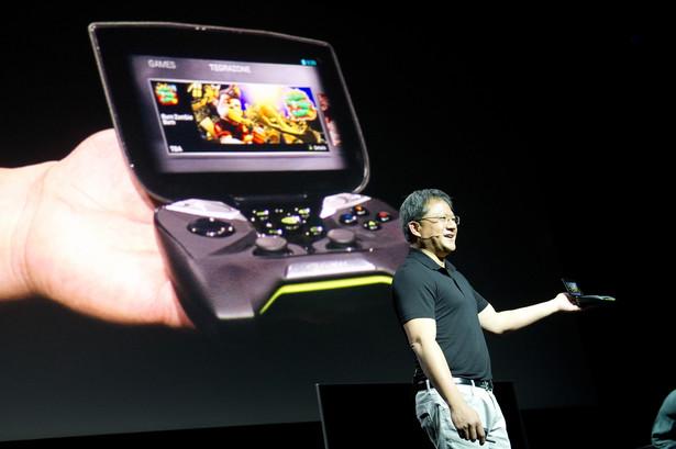 Przenośna konsola producenta kart graficznych Nvidia.