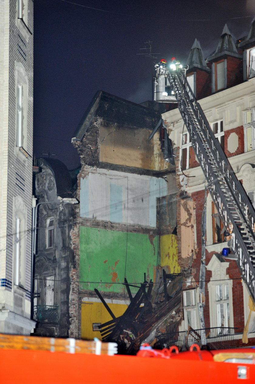 Katowice. Wybuch gazu w kamienicy przy zbiegu ul. Chopina i Sokolskiej