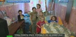 Mąż zostawił Olgę, gdy złamała kręgosłup. Dzieci straciły ojca