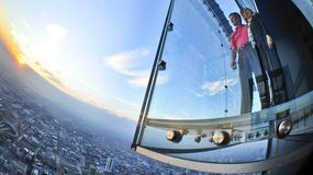 """Pękła szklana platforma widokowa """"The Ledge"""" na 103 piętrze wieżowca w Chicago"""