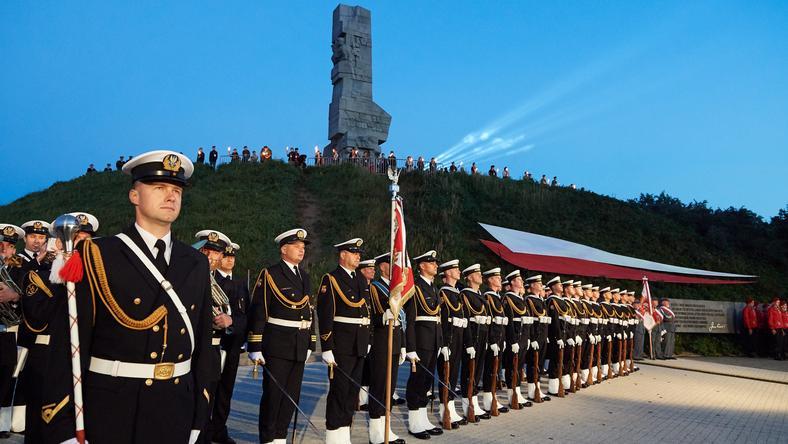 GDAŃSK WESTERPLATTE ROCZNICA WYBUCHU II WOJNY ŚWIATOWEJ (Kompania honorowa Wojska Polskiego )