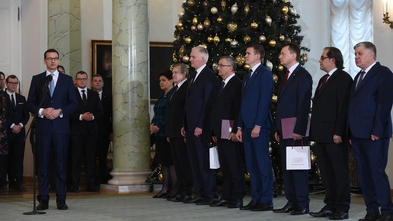 Nowy rząd Mateuszwa Morawieckiego