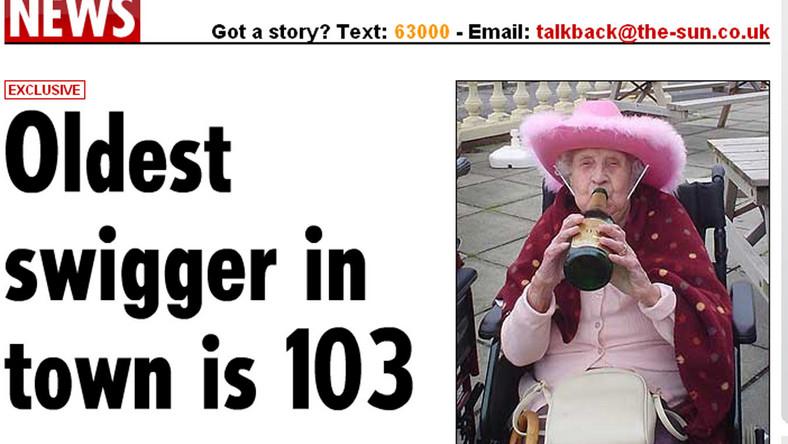 Zobacz 103-letnią imprezowiczkę