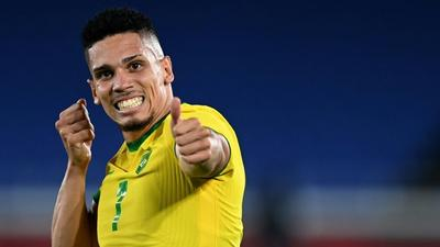 Goal and arrow: Brazil's Paulinho makes stand against religious intolerance at Olympics