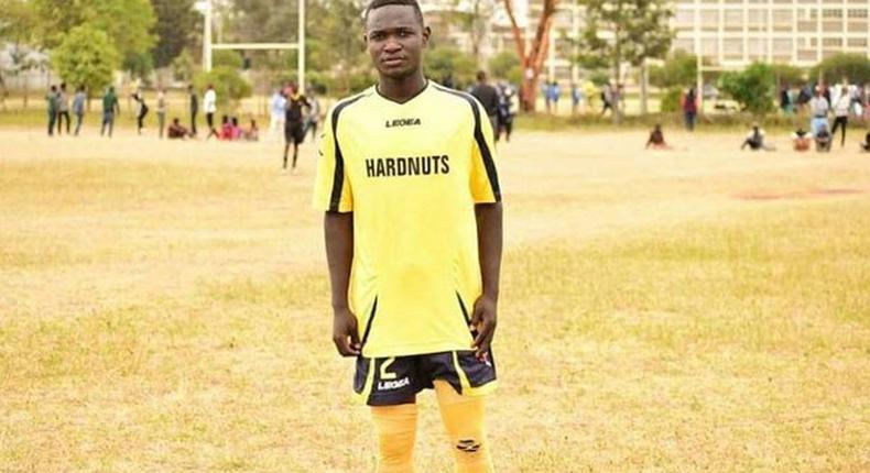 Allan Mbote of Red Sharks FC